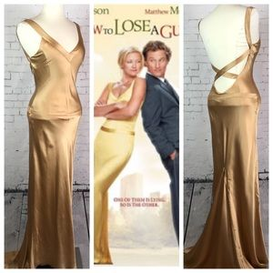 Kate Hudson Dress in (Gold) Size: Small